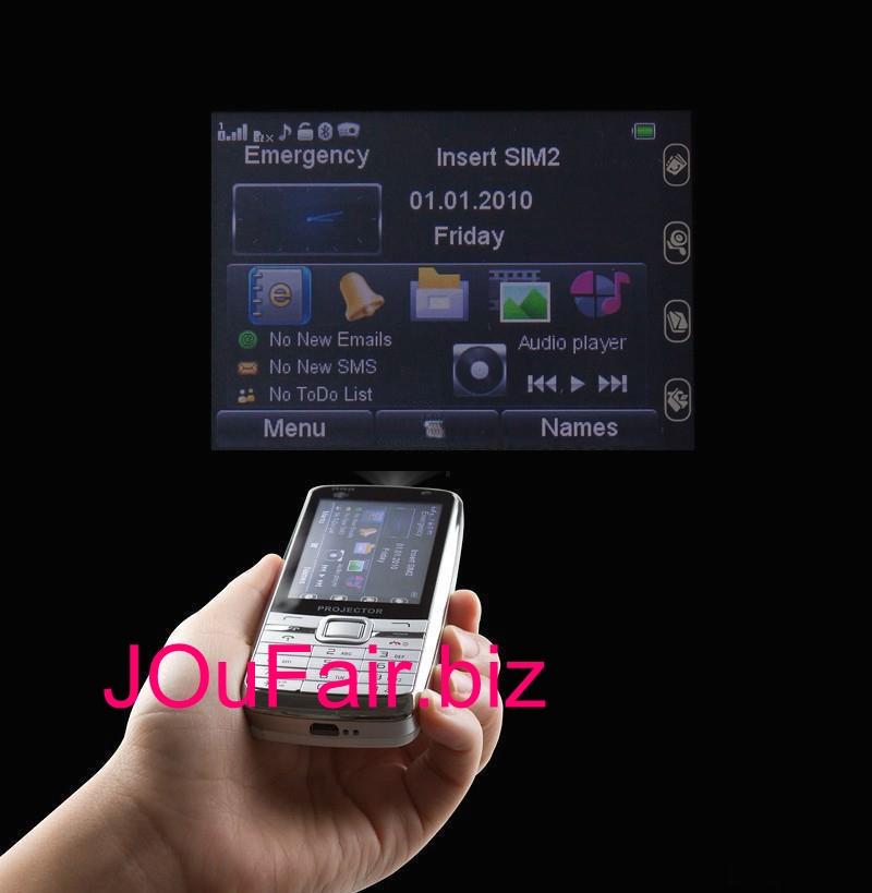 Китайский телефон с проектором