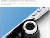 Крутящаяся камера зеркала-видеорегистратора Junsun