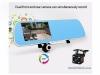 Китайское зеркало-видеорегистратор Junsun с GPS навигатором
