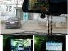 Китайское зеркало-видеорегистратор Junsun с GPS навигатором в действии
