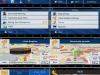 GPS навигация в зеркале-видеорегистраторе Junsun