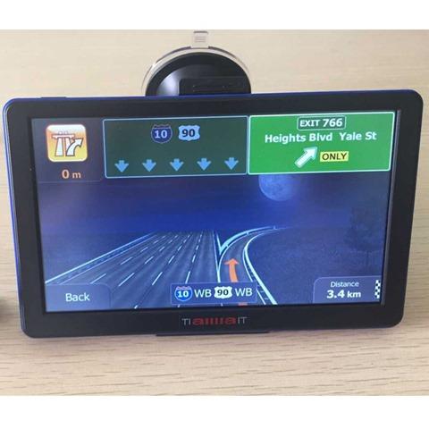 Навигация по полосам в китайском GPS навигаторе TiaiwaiT