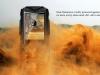 Китайский защищённый телефон VKworld Stone V3 в пыли