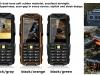 Китайский защищённый телефон VKworld Stone V3 в трёх расцветках