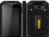Китайский смартфон iMAN i5800C в чёрном корпусе