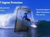 Смартфон iMAN i5800C не боится воды