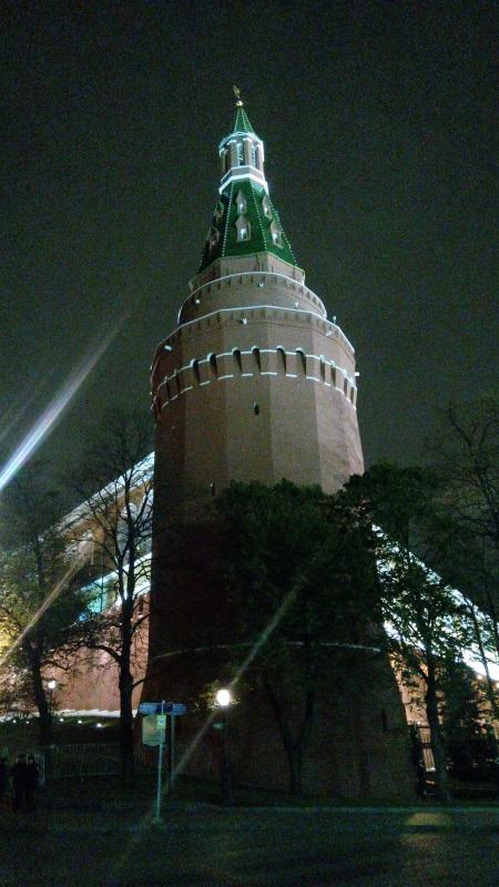 Вечерняя прогулка на Красную площадь