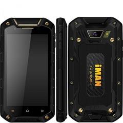 Китайский защищённый смартфон iMAN i5800C чёрного цвета
