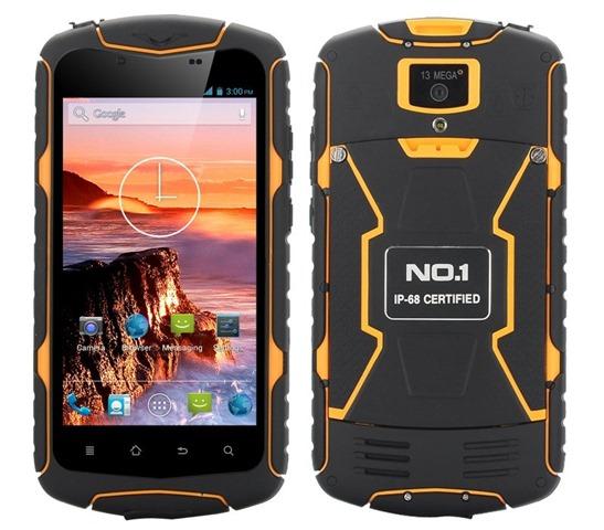 Китайский защищённый смартфон No.1 X1