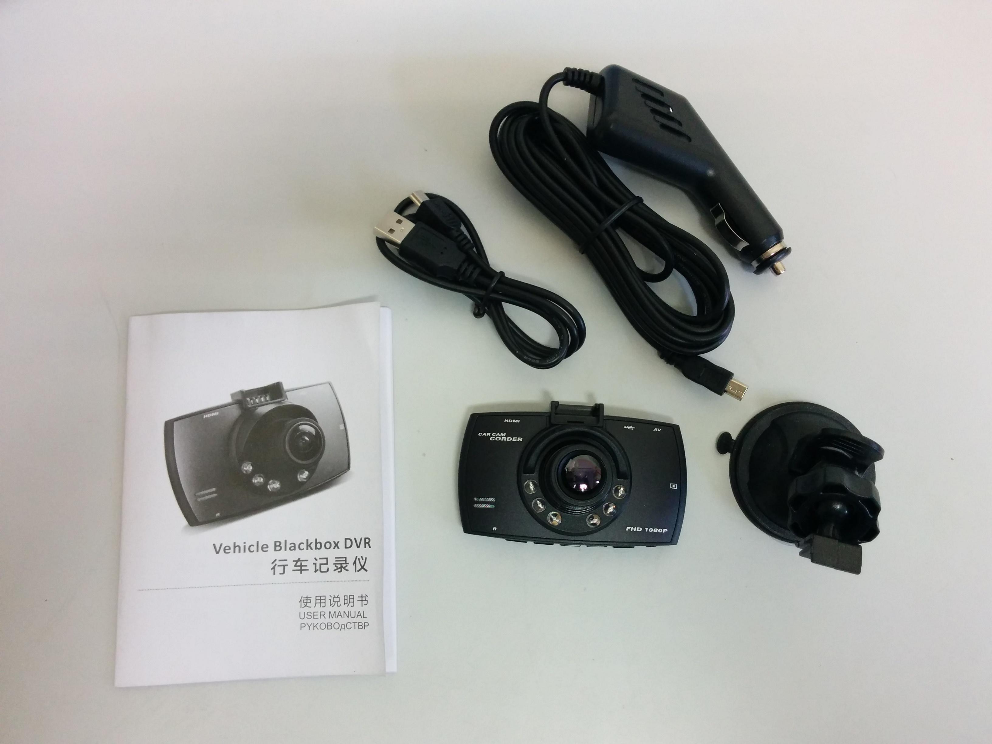 Аксессуары китайского видеорегистратора Blackview G30
