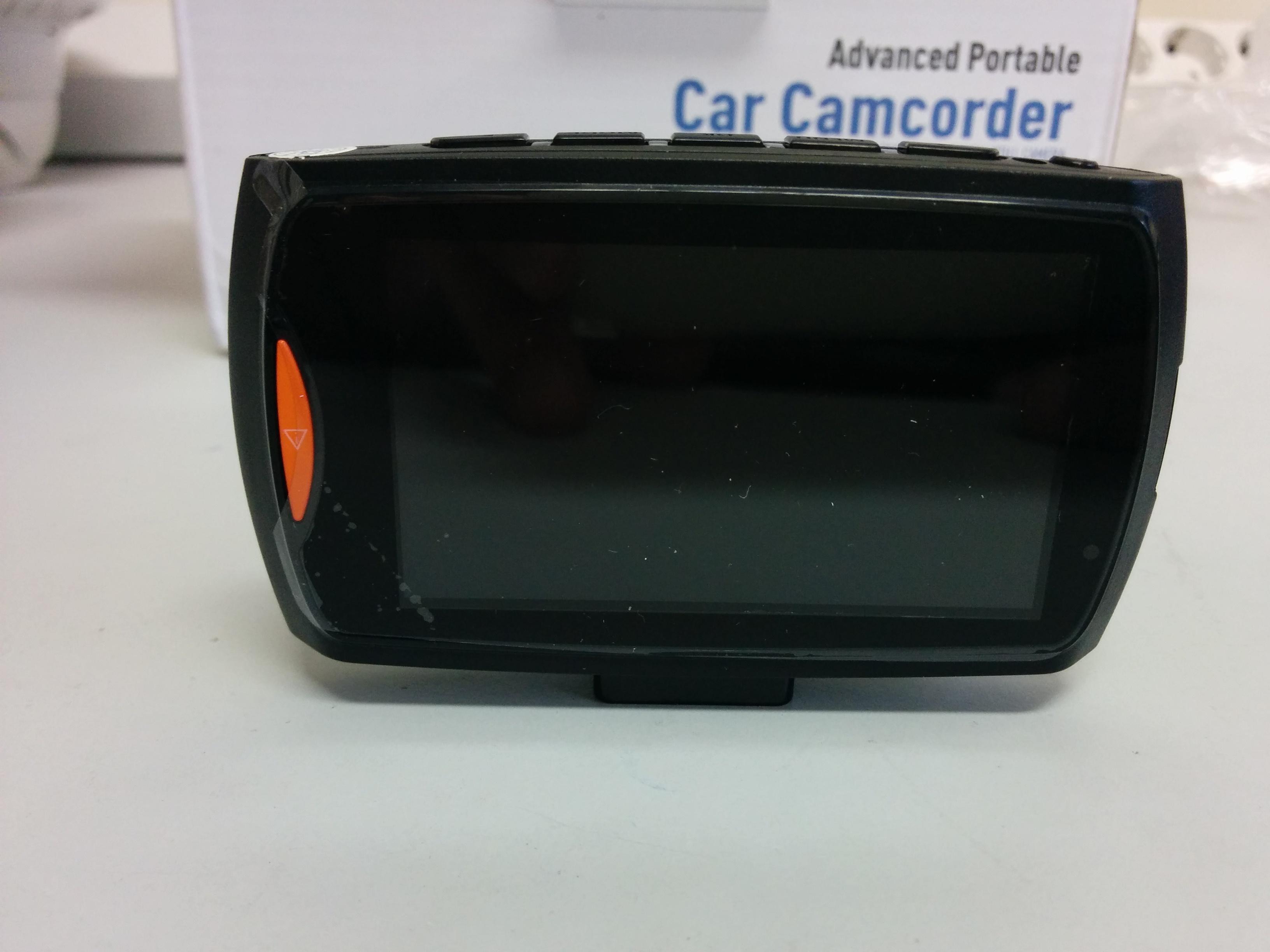 Видеорегистратор Blackview G30 - оранжевая кнопка экстренной записи