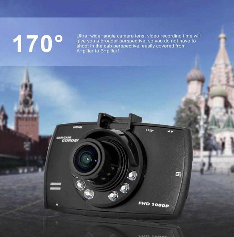 Ультраширокий объектив китайского видеорегистратора Blackview G30