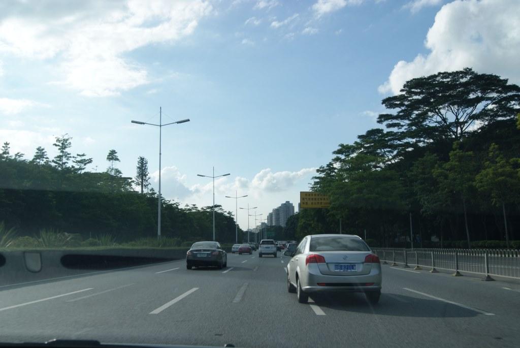 По дороге к заливу Шэньчжэнь