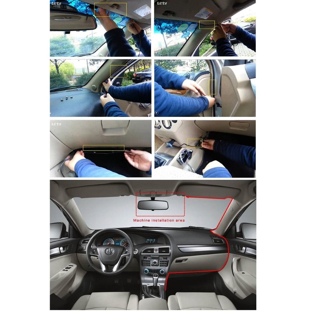 Инструкция по монтажу китайского видеорегистратора G95A в автомобиле