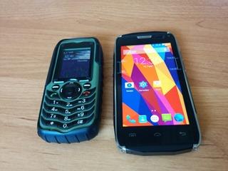 Смартфон Doogee DG700 и телефон AGM V2