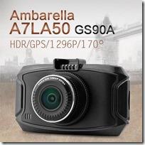 Китайский видеорегистратор GS90A