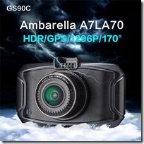 Китайский видеорегистратор GS90C