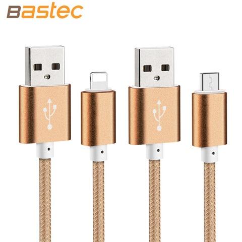Стильный microUSB кабель Bastec для смартфонов и планшетов