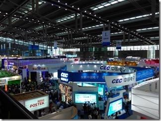 Выставка электроники China Hi-Tech Fair в Шэньчжэне