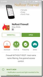 NoRoot Firewall для Xiaomi Redmi 3