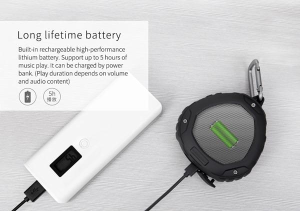 Портативная защищённая Bluetooth колонка Nillkin S1 PlayVox