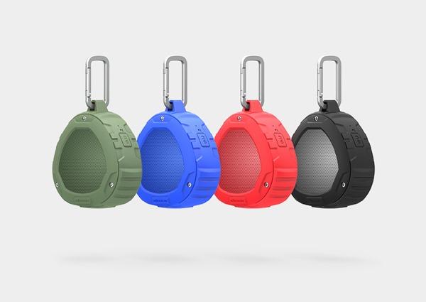 Цветовая гамма корпусов защищённой Bluetooth колонки Nillkin S1 PlayVox