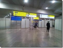 Первые прибывшие пассажиры из Гонконга
