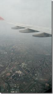 Под крылом - красивый Гуанчжоу