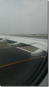 Рулёжка самолёта в аэропорту Гуанчжоу Байюнь