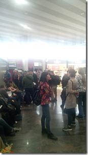 Ожидание в аэропорту Шереметьево