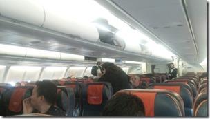 Посадка в самолёт