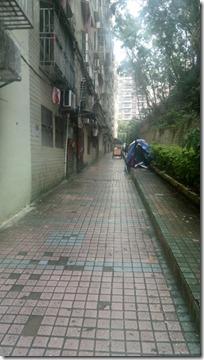 В этом районе живут простые китайцы