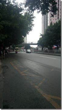 Типичная улочка в Шэньчжэне