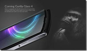 Закалённое стекло Corning Gorilla Glass 4 в смартфоне iMan Victor