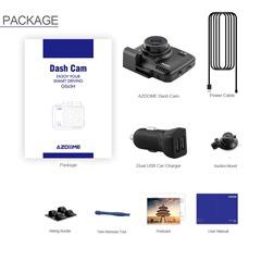 Комплект поставки китайского видеорегистратора AZDome GS63H