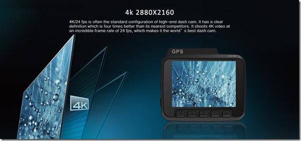 Китайский видеорегистратор AZDome GS63H 4K Ultra HD