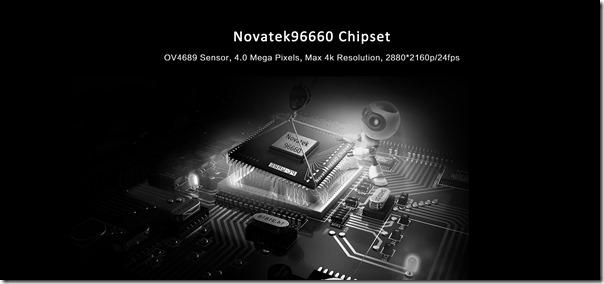 Китайский видеорегистратор AZDome GS63H с процессором Novatek 96660